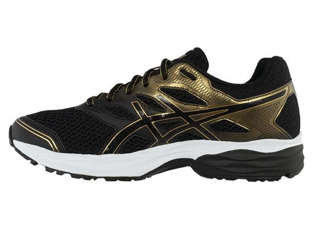 Tênis Asics Gel-Shogun 2 Black/Pure Gold Masculino - 2