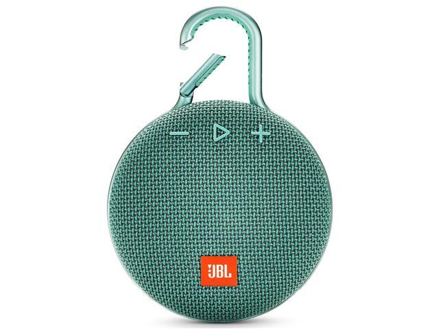 Caixa de Som Bluetooth JBL Clip 3 3,3W Verde