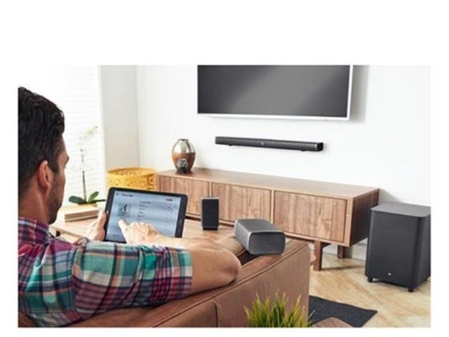 Soundbar JBL Bluetooth 5.1 Dolby Digital Bar 5.1 RMS 218W Preto - 7