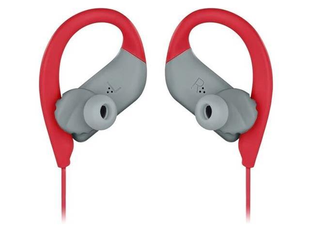 Fone de Ouvido Bluetooth JBL Ergonômico Endurance Sprint Vermelho - 4
