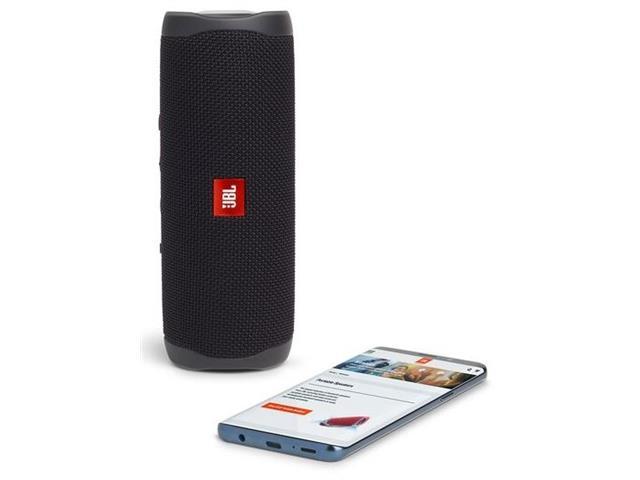 Caixa de Som Bluetooth JBL Flip 5 20W à prova d'água Preta - 5