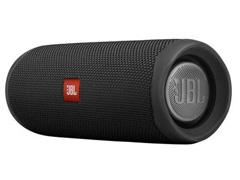Caixa de Som Bluetooth JBL Flip 5 20W à prova d'água Preta - 1