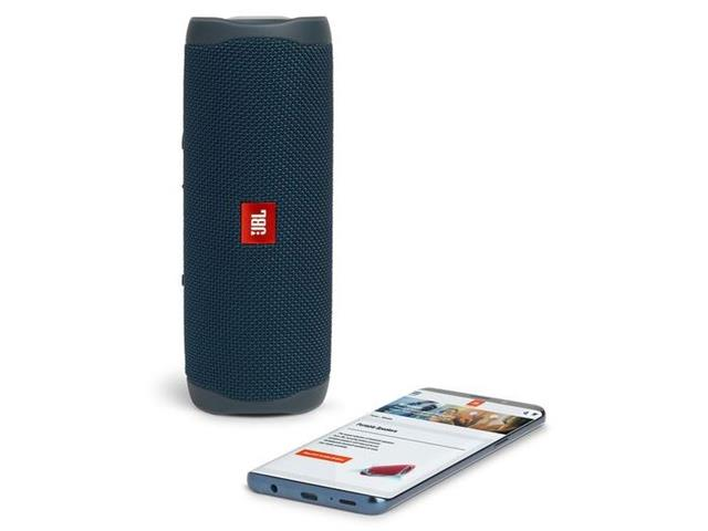 Caixa de Som Bluetooth JBL Flip 5 20W à prova d'água Azul - 5
