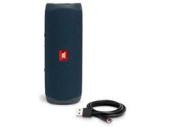 Caixa de Som Bluetooth JBL Flip 5 20W à prova d'água Azul - 4