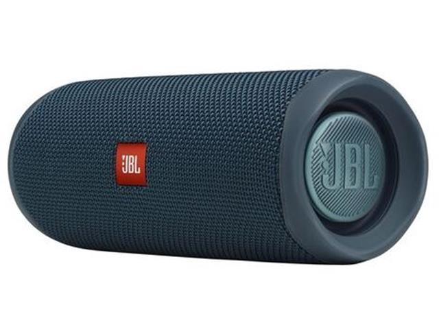 Caixa de Som Bluetooth JBL Flip 5 20W à prova d'água Azul - 1