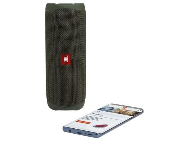 Caixa de Som Bluetooth JBL Flip 5 20W à prova d'água Verde - 5