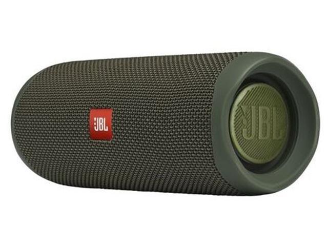 Caixa de Som Bluetooth JBL Flip 5 20W à prova d'água Verde - 1