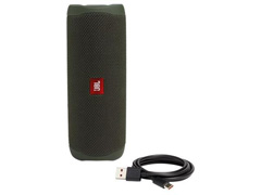 Caixa de Som Bluetooth JBL Flip 5 20W à prova d'água Verde - 4