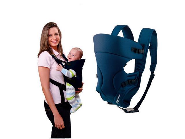 Bolsa Canguru para Bebê Multikids Baby Safe Azul - 2
