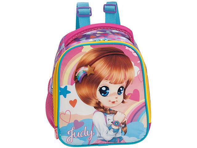Lancheira Infantil Sestini Judy com Alças Tam G Rosa - 1