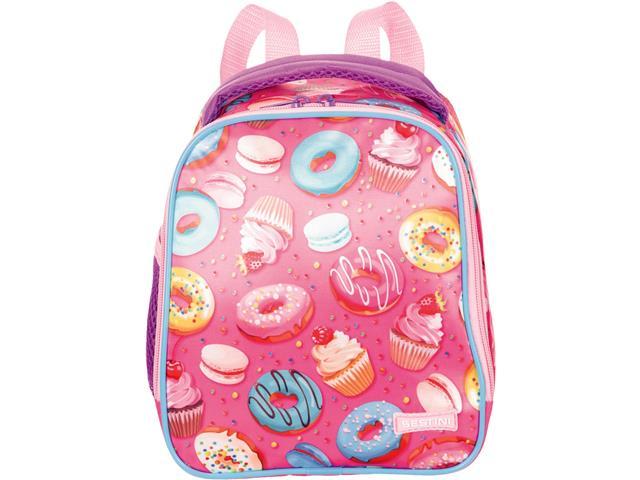 Lancheira Infantil Sestini Candy com Alças Tam G Rosa - 1
