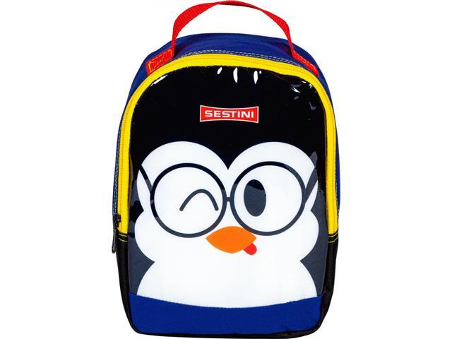 Lancheira Infantil Sestini Kids Basic Pinguim Tam P Colorida - 1