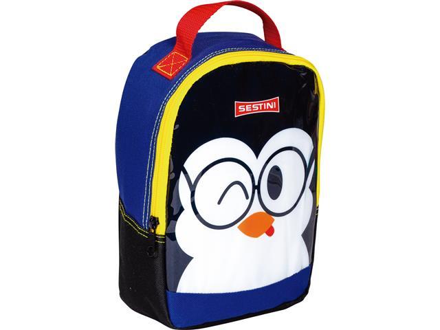 Lancheira Infantil Sestini Kids Basic Pinguim Tam P Colorida