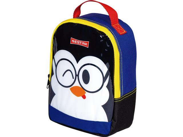 Lancheira Infantil Sestini Kids Basic Pinguim Tam P Colorida - 2
