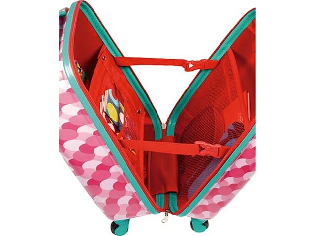 Mala Infantil Sestini Kids Fox 360° Tam P Colorida - 1