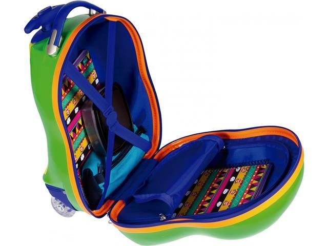 Mala Infantil Sestini Kids Dino Tam PP Colorida - 1