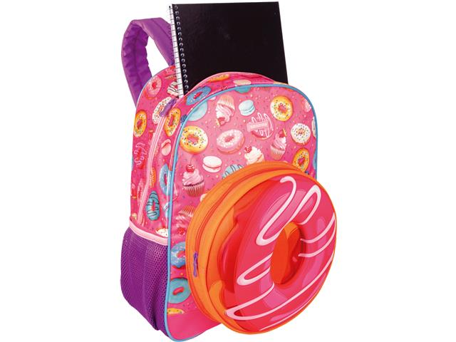 Mochila Infantil Sestini Candy Tam G Colorida - 4