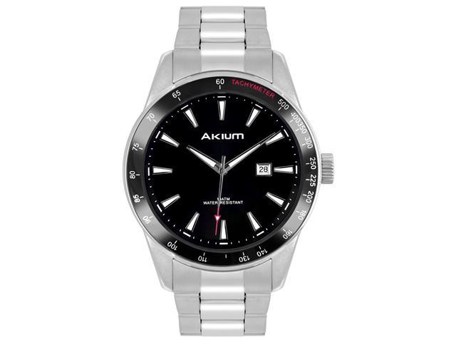 Relógio Akium Masculino Aço TMG7041B
