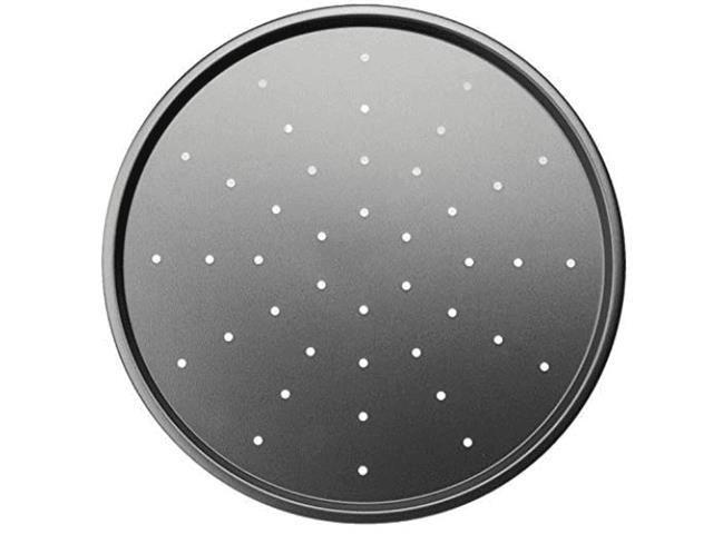 Forma para Pizza Brinox Antiaderente Pro-Flon com Furos Grafite 33 cm - 2