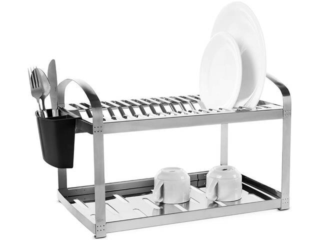 Escorredor para 16 Pratos Brinox Suprema 2099/116 em Aço Inox - 1