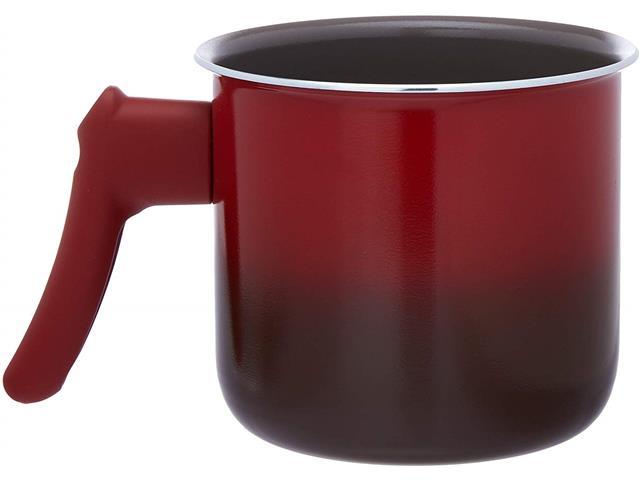 Fervedor Brinox Antiaderente Ceramic Life Smart Vermelho 1,250 Litros - 2