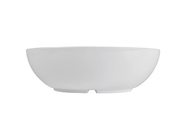 Saladeira Oval Haus Melamina Branco 29cm 2,9 Litros - 2