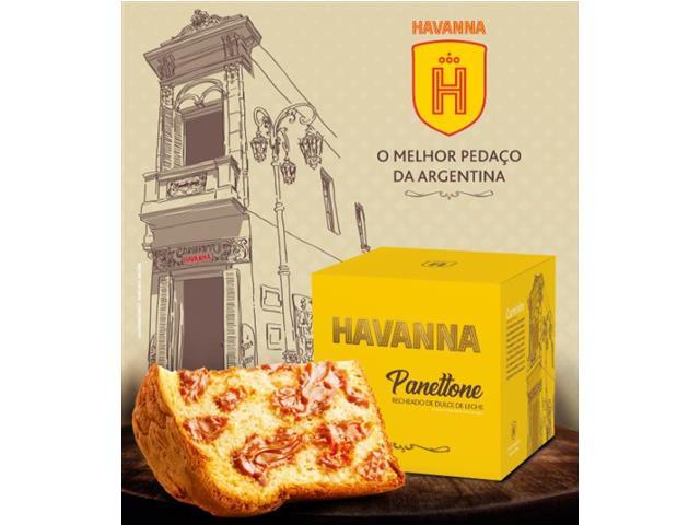 Panettone Havanna Recheado de Doce de Leite 700g - 3