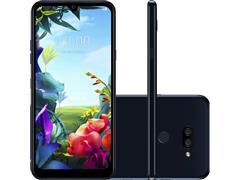 "Smartphone LG K40S IA 4G 32GB Duos Tela 6.1"" Câm 13MP+13MP+5MP Preto"