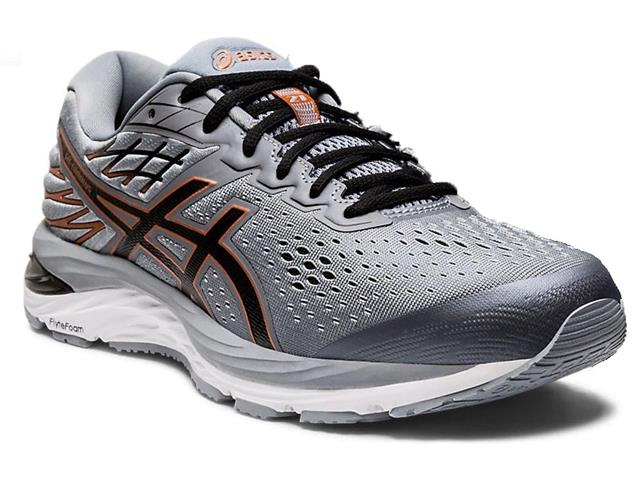Tênis Asics Gel-Cumulus 21 Sheet Rock/Black Masculino