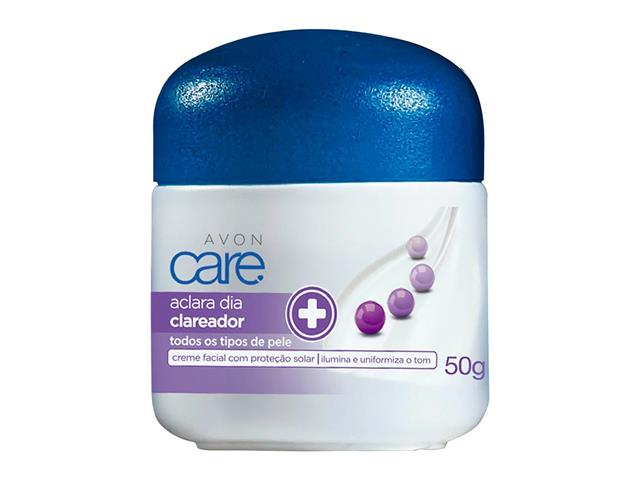 Creme Facial Clareador Avon Care Aclara Dia 50g