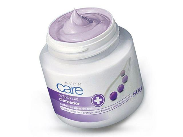 Creme Facial Clareador Avon Care Aclara Dia 50g - 1