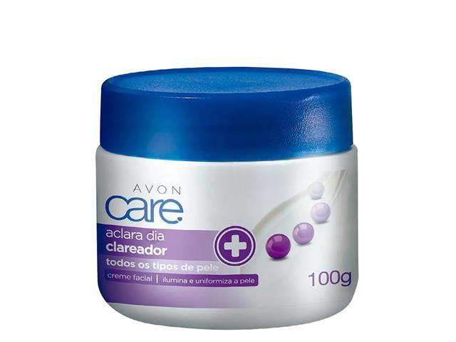 Creme Facial Clareador Avon Care Aclara Dia 100g