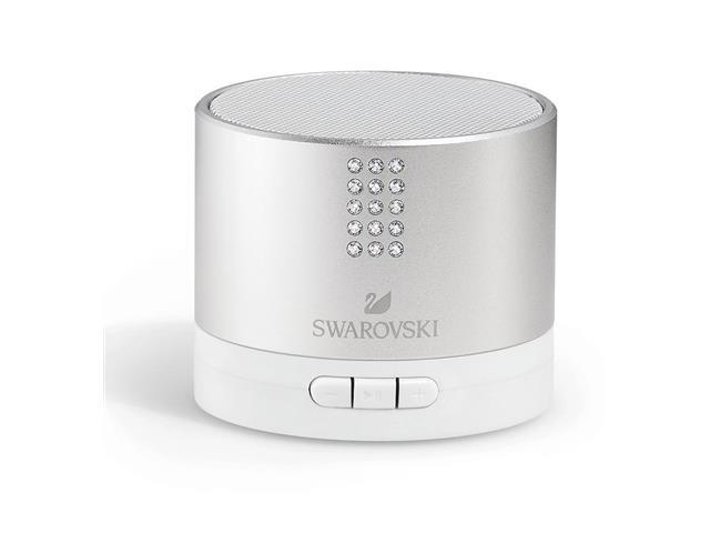 Caixa de Som Swarovski Prata via Bluetooth
