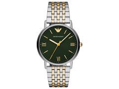 Relógio Emporio Armani Kappa Masculino Prata AR11228/1KN - 0