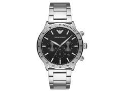 Relógio Emporio Armani Masculino Classic Chrono Prata AR11241/1KN