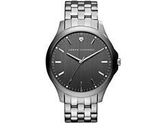 Relógio Armani Exchange Prata com Fundo Grafite AX2169/1CN