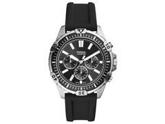 Relógio Fossil Masculino Garret Prata FS5624/8KN