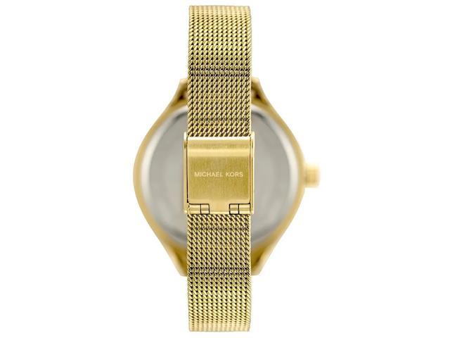 Relógio Michael Kors Feminino Slim Runway Dourado MK3920/1DN - 1