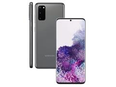 """Smartphone Samsung Galaxy S20 128GB Tela 6.2"""" 8GB RAM 64+12+12MP Cinza - 1"""