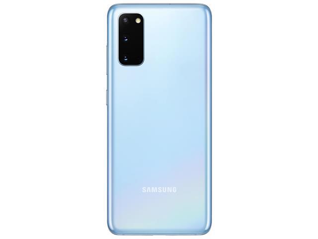 "Smartphone Samsung Galaxy S20 128GB Tela 6.2"" 8GB RAM 64+12+12MP Azul - 5"