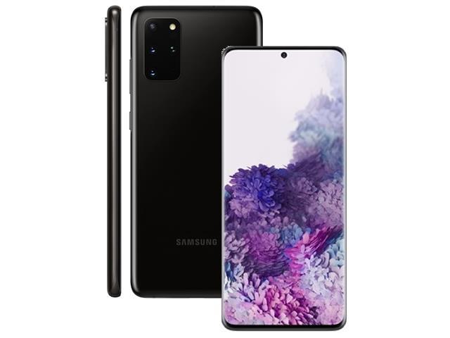 "Smartphone Samsung Galaxy S20+ 128GB 6.7"" 8GB RAM 64+12+12MP+ToF Preto - 1"
