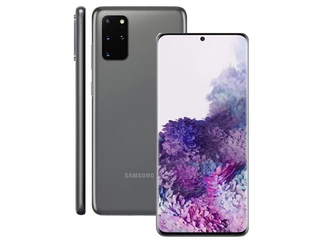 "Smartphone Samsung Galaxy S20+ 128GB 6.7"" 8GB RAM 64+12+12MP+ToF Cinza - 1"