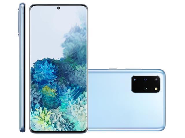 "Smartphone Samsung Galaxy S20+ 128GB 6.7"" 8GB RAM 64+12+12MP+ToF Azul"