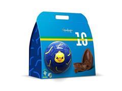 Combo 2 Ovos de Páscoa Kopenhagen Bola Seleção Brasileira e Maquiagem - 1