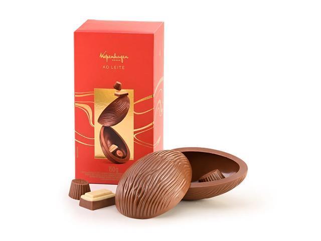 Combo 2 Ovos de Páscoa Kopenhagen Chocolate ao Leite 150G - 1