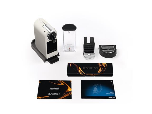 Cafeteira Nespresso Automática CitiZ D113 Kit Boas Vindas Branca 220V - 8