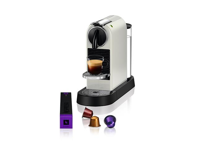 Cafeteira Nespresso Automática CitiZ D113 Kit Boas Vindas Branca 220V - 2