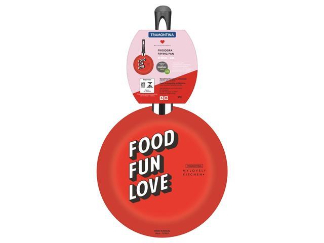 Frigideira Tramontina My Lovely Kitchen Antiaderente Vermelha 20CM - 2