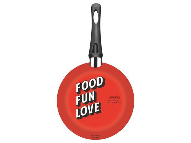 Frigideira Tramontina My Lovely Kitchen Antiaderente Vermelha 20CM - 1