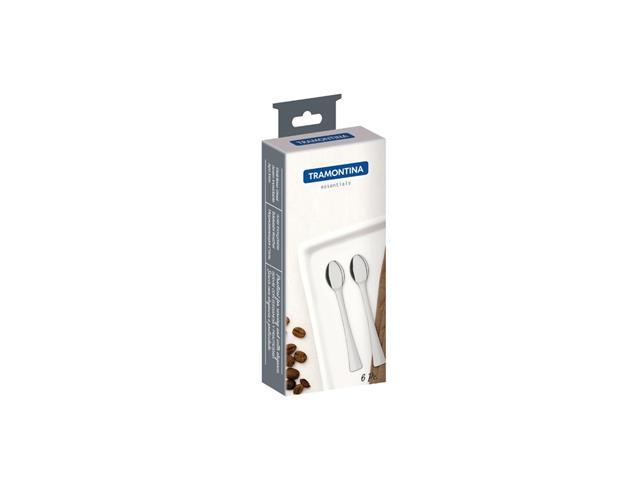 Conjunto de Colheres para Café/Expresso Tramontina em Aço Inox 6 Peças - 3